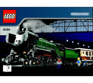 LEGO Emerald Night Set 10194 Instructions