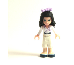 LEGO Emma Karate suit Minifigure