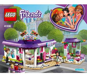 LEGO Emma's Art Café Set 41336 Instructions