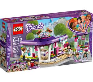LEGO Emma's Art Café Set 41336 Packaging