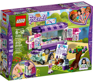 LEGO Emma's Art Stand Set 41332 Packaging