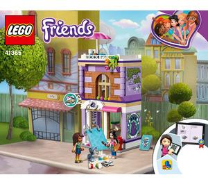 LEGO Emma's Art Studio Set 41365 Instructions