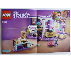 LEGO Emma's Deluxe Bedroom Set 41342 Instructions