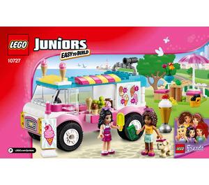 LEGO Emma's Ice Cream Truck Set 10727 Instructions
