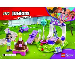 LEGO Emma's Pet Party Set 10748 Instructions