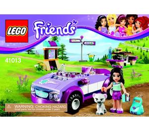 LEGO Emma's Sports Car Set 41013 Instructions