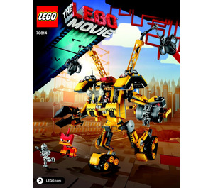 LEGO Emmet's Construction Mech Set 70814 Instructions