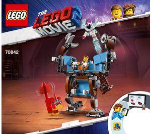 LEGO Emmet's Triple-Decker Couch Mech Set 70842 Instructions