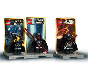 LEGO Emperor Palpatine, Darth Maul and Darth Vader Minifig Pack - Star Wars #1 Set 3340
