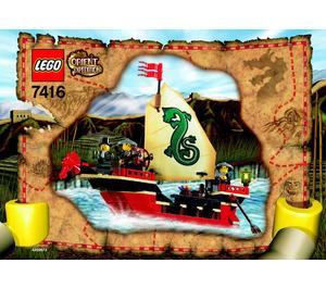LEGO Emperor's Ship Set 7416 Instructions