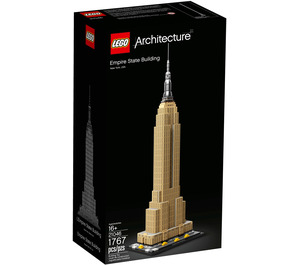 LEGO Empire State Building Set 21046 Packaging