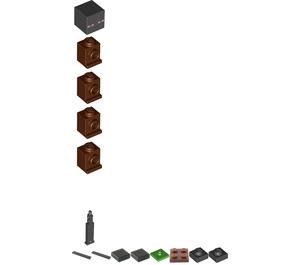 LEGO Enderman Minifigure