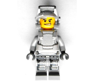 LEGO Engineer with Silver Breastplate Minifigure