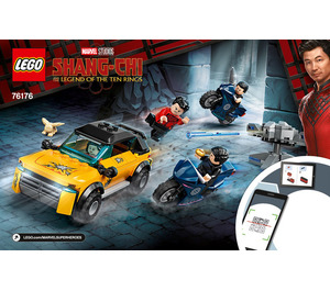 LEGO Escape from The Ten Rings Set 76176 Instructions