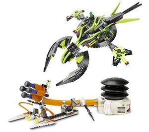 LEGO ETX Alien Mothership Assault  Set 7691