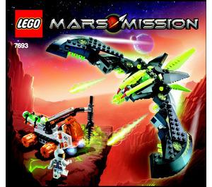 LEGO ETX Alien Strike Set 7693 Instructions