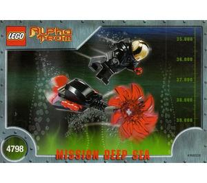 LEGO Evil Ogel Attack Set 4798