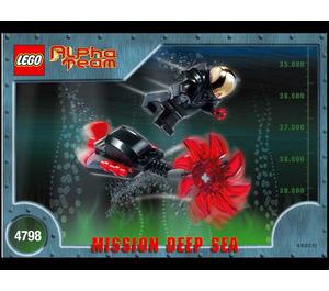 LEGO Evil Ogel Attack Set 4798 Instructions