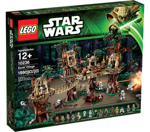 LEGO Ewok Village Set 10236 Packaging