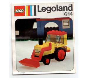 LEGO Excavator Set 614 Instructions