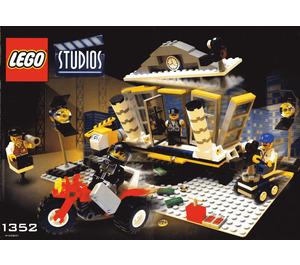LEGO Explosion Studio Set 1352 Instructions
