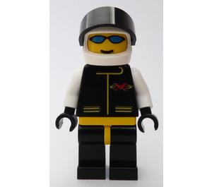 LEGO Extreme Team Member with White Flame Helmet Minifigure