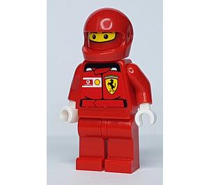 LEGO F1 Ferrari Pit Crew Member with Vodafone/Shell Stickers on Torso Minifigure