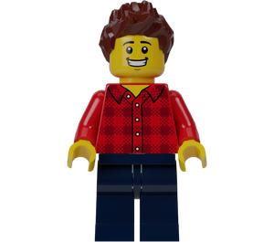 LEGO F1 Race Fan Minifigure