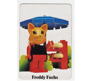 LEGO Fabuland Memory Game Card n° 1 (German version)