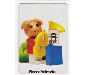 LEGO Fabuland Memory Game Card n° 3 (German version)