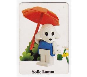 LEGO Fabuland Memory Game Card n° 5 (German version)