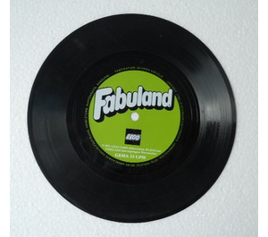 LEGO Fabuland promotional flexi-single audio record