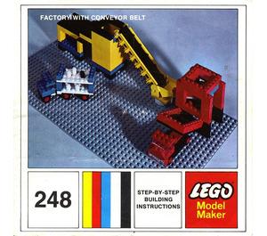 LEGO Factory with Conveyor Belt Set 248-2