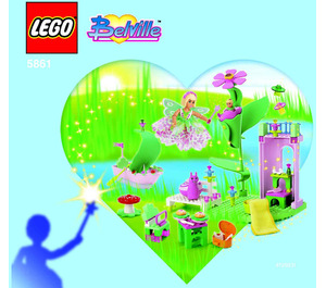 LEGO Fairy Island Set 5861 Instructions