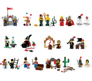 LEGO Fairytale and Historic Minifigure Set 9349