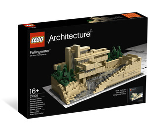 LEGO Fallingwater Set 21005 Packaging
