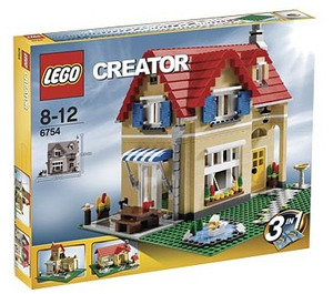 LEGO Family Home Set 6754 Packaging