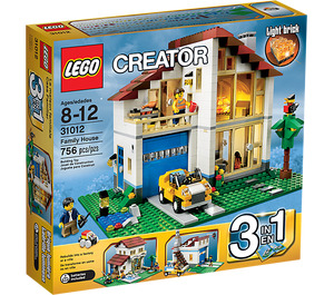 LEGO Family House Set 31012 Packaging
