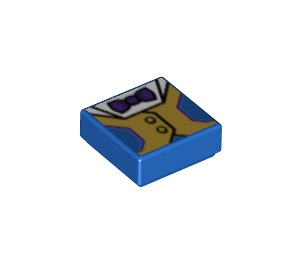 LEGO Fancy Pants Tile 1 x 1 with Groove (3070 / 34190)