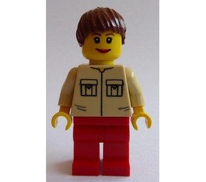 LEGO Farm Hand, Female Minifigure