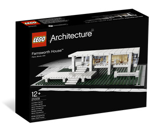LEGO Farnsworth House Set 21009 Packaging