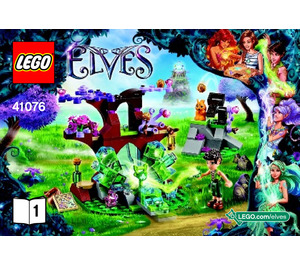 LEGO Farran and the Crystal Hollow Set 41076 Instructions
