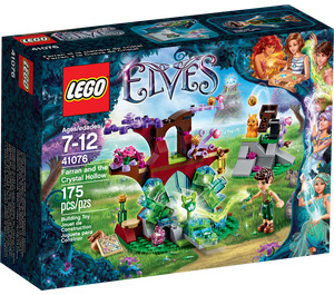 LEGO Farran and the Crystal Hollow Set 41076 Packaging