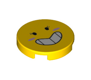 LEGO Feebee Round Tile 2 x 2 with Bottom Stud Holder (38803)
