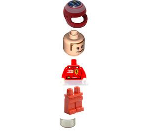 LEGO Felipe Massa with Stickers Minifigure