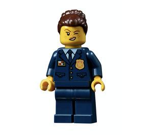 LEGO Female Chief Inspector  Minifigure