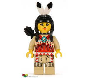 LEGO Female Indian with Quiver Minifigure