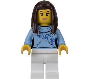 LEGO Female Pizza Van Customer Minifigure