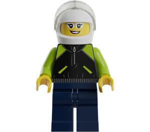 LEGO Female Porsche Racing Driver Minifigure