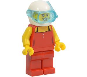 LEGO Female Scuba Diver Minifigure
